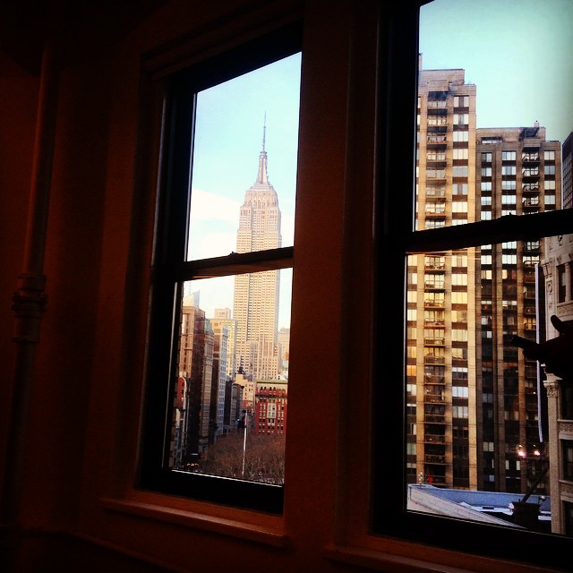 The never-got-old view from the Gradian office in NYC